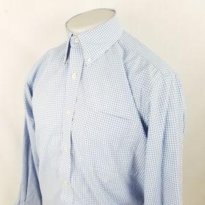 Lauren Ralph Lauren Button Front Dress Shirt 15.5